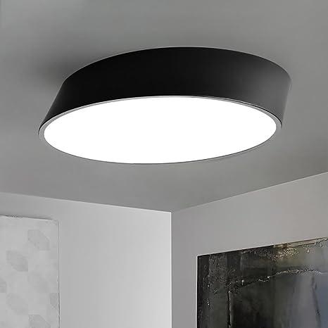 Amazon.com: Luces de techo LED marco de metal lámpara de ...