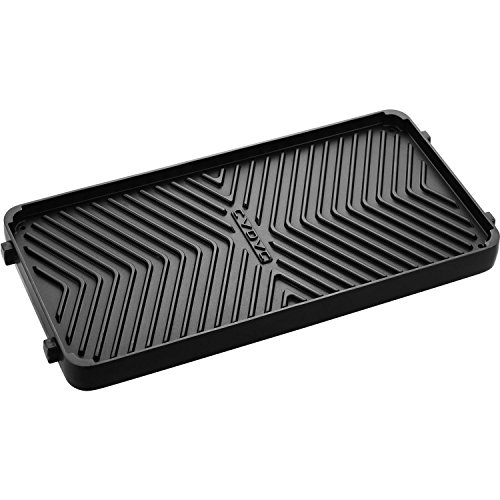 Cadac 98700-51 Reversible Non-Stick Grill Plate for Stratos Range Grills, Black