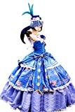 Mtxc Women's Love Live! Cosplay Sonoda Umi Ball Dress SR Card Ver. Size Medium Blue