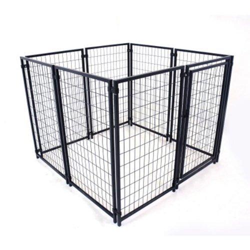 ALEKO 5'x5'x4' Dog Kennel Heavy Duty Pet Playpen Dog Exercise Pen Cat Fence