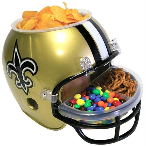 New Orleans Saints Snack Helmet - 1