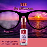 Optix 55 New Anti Fog Spray for Glasses - Safe for