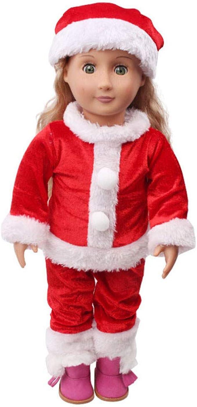 Amazon.com: Chirstmas - Gorro de vestir para muñeca de niño ...