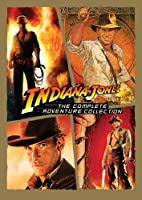 Indiana Jones The Complete Adventure Collection Raiders Of The Lost Ark Temple Of Doom Last Crusade Kingdom Of The Crystal Skull from Paramount