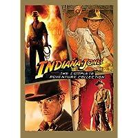 Indiana Jones: La colección completa de aventuras (Asaltantes del arca perdida /Templo de la fatalidad /Última cruzada /Reino de la calavera de cristal)