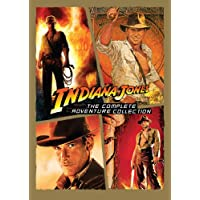 Indiana Jones: The Complete Adventure Collection (Raiders of the Lost Ark / Temple of Doom / Last Crusade / Kingdom of the Crystal Skull)