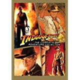 Indiana Jones: The Complete Adventure Collection (Raiders of the Lost Ark / Temple of Doom / Last Crusade / Kingdom of the Crystal Skull) ~ Harrison Ford