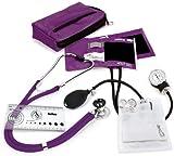 Best Blood Pressure Cuff And Stethoscope Kits - Prestige Medical Sprague/Sphygmomanometer Nurse Kit, Purple Review