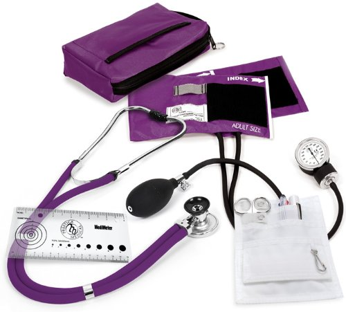 (Prestige Medical Sprague/Sphygmomanometer Nurse Kit, Purple)