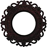 Ekena Millwork CM13ORCHS 13 1/4'' OD x 6 ID x 1 1/8'' P Orrington (fits Canopies up to 6 5/8'') Hand-Painted Ceiling Medallion, Cherry