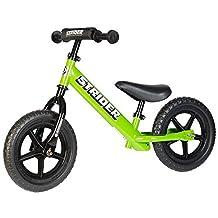 STRIDER ST-SP-12-BLK SPORT, 12-Inch Kids Learner Balance Bike