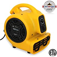 1/5 Horsepower Zoom Centrifugal Floor Dryer, Air Mover Commercial Quality Carpet Blower