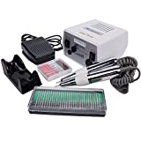 Miss Sweet Electric Nail Drill Professional for Acrylic Nails Regular Polish RPM20000 (White2)