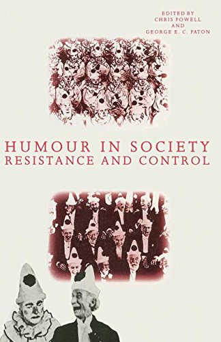 Humour in Society: Resistance and Control