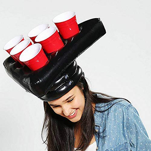 51d4OgUO60L - Inflatable Beer Pong Hat