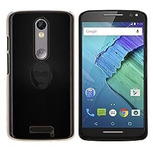 Jordan Colourful Shop - 3CPO For Motorola Moto X 3rd / Moto X Style Personalizado negro cubierta de la caja de pl????stico