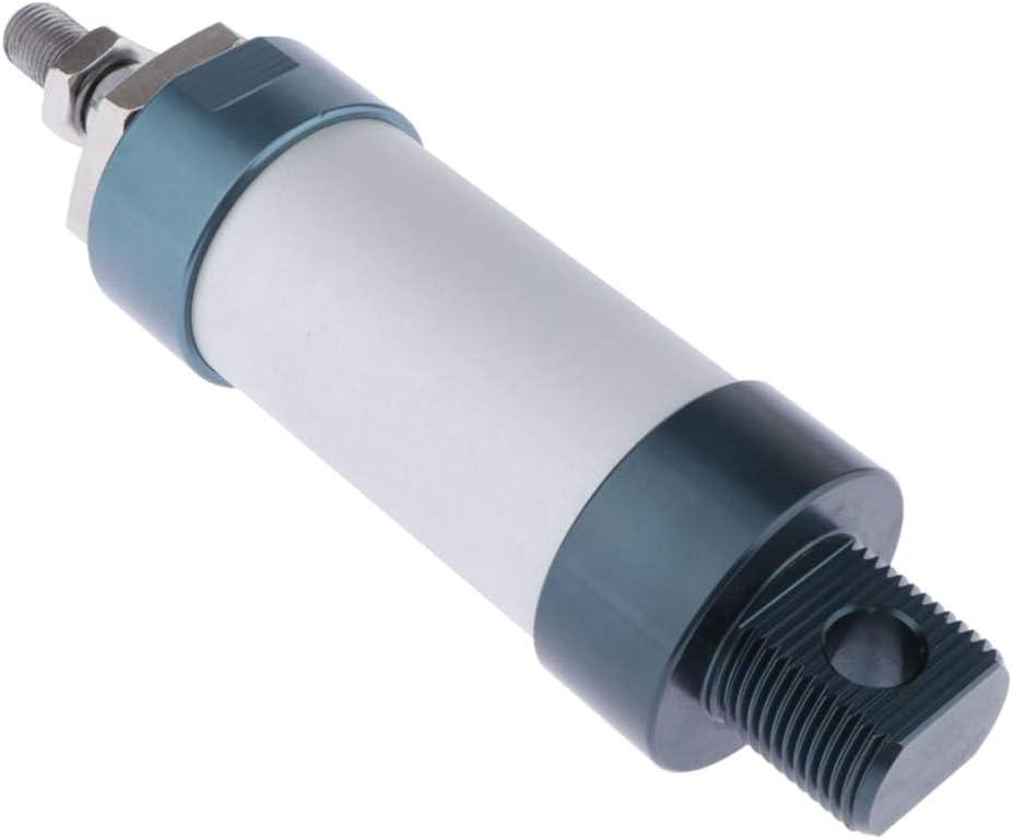 Durchmesser 50-300mm kesoto Mini Doppeltwirkende Druckluftzylinder Luftzylinder Pneumatikzylinder MAL 40x125mm