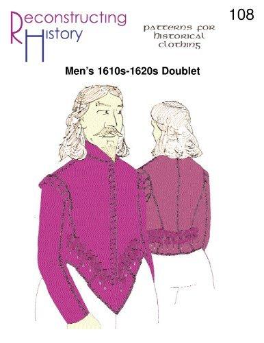 Renaissance Shirt Pattern (Men's 1620's Cavalier Doublet Pattern)