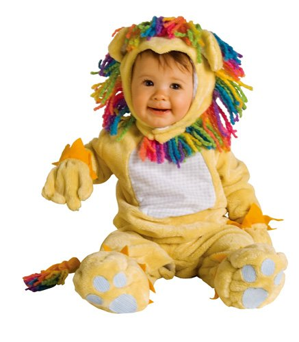 Rubie's Costume Co NLP Fearless Lil' Lion Costume, 12-18 Months