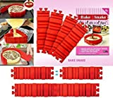 Product review for Aitsite 4Pcs Magic Bake Snake Silicone Nonstick Baking Snake Molds Diy Cakes In Any Shape