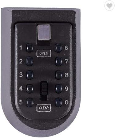 Ssiyun Caja De Seguridad Portátil para Vehículos, Caja De Cerradura con Llave: Amazon.es: Hogar