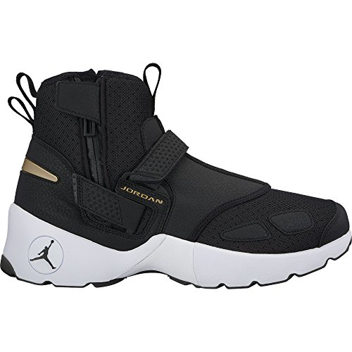 Nike Men's Jordan Trunner LX High Shoe Black/Black-White 9 by NIKE
