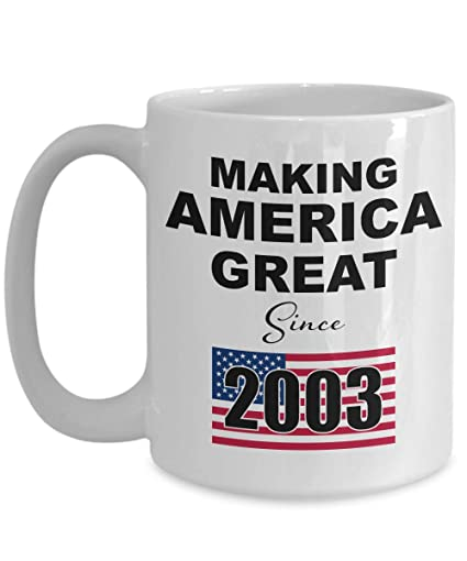 Amazon 16th Birthday Coffee Mug White