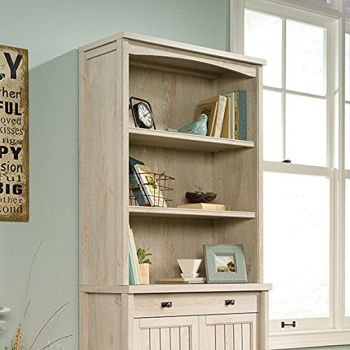 Sauder Costa Library Hutch in Chalked Chestnut