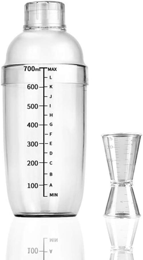 Cocktail Shaker, 24 oz Plastic Cocktail Shaker Set