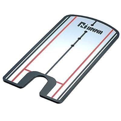 IINNII Putting Alignment Mirror Training Aid - Practice Your Putting Alignment Tool