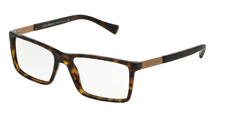 c195be9f52bc0 Amazon.com  Dolce   Gabbana Men s DG3217 Eyeglasses Havana 55mm  Clothing