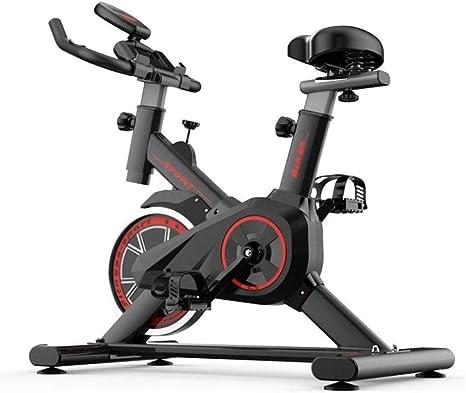 Divgdovg Bicicleta Estática para El Hogar Bicicleta de Spinning. Bicicleta Estática Vertical conPantalla LCD, Pulsómetro, Resistencia Variable, Altura Ajustable, Indoor, Volante de Inercia B: Amazon.es: Deportes y aire libre