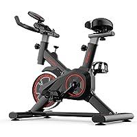 Spin Bike - Bicicleta de fitness para entrenamiento aeróbico en casa, para entrenamiento de adelgazamiento, resistencia, spinbike con cardio para el hogar y fitness