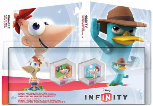 (Disney INFINITY Phineas & Ferb Toy Box Pack)