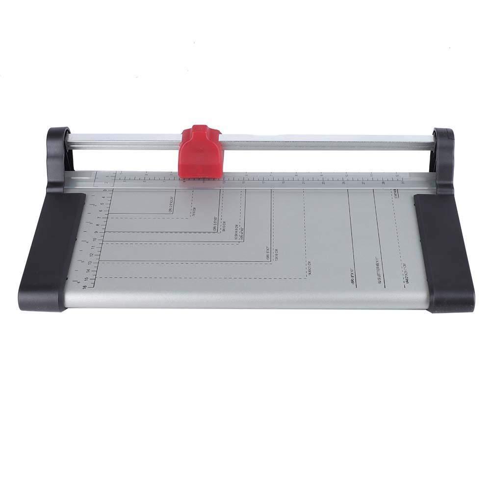 Nitrip Practical Manual Roller Cutter A4 Paper Card Rolling Trimmer DIY Scrapbook Photo Cutter by NITRIP