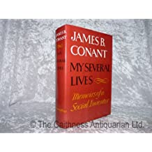 Amazon james conant books my several lives memoirs of a social inventor fandeluxe Choice Image