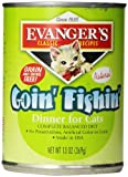 Evanger'S 776413 12-Pack Natural Classic Goin' Fishin' Dinner For Cats, 13-Ounce Review