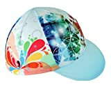 Uriah Cycling Cap Polyester Sweat Wicking Painting