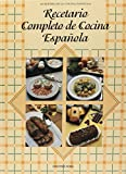 img - for Recetario Completo de Cocina Espanola (Spanish Edition) book / textbook / text book
