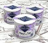 Le Paludier de Guerande Fleur de Sel, Three 4.4-oz containers