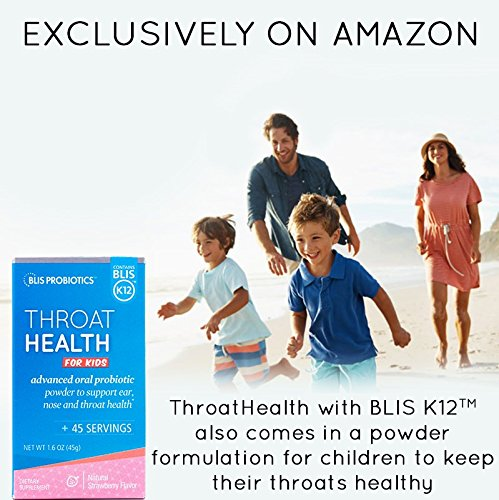 BLIS ThroatHealth Oral Probiotic, Most Potent BLIS K12 Formula Available, 2.5 Billion CFU, Throat Immunity Support for Adults and Kids, Sugar-Free Lozenges, 30 Day Supply by bliss (Image #8)
