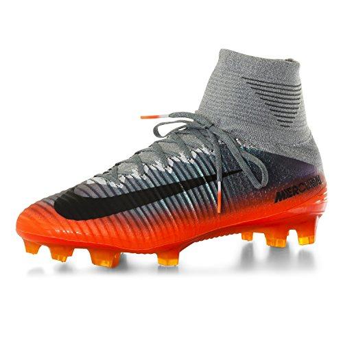 Nike 852511-376, Botas de Fútbol para Hombre COOL GREY/MTLC HEMATITE-WOLF GREY