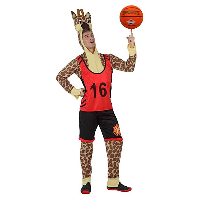 Jugador de baloncesto jirafa Señor Disfraz Animales Disfraz jirafa ...