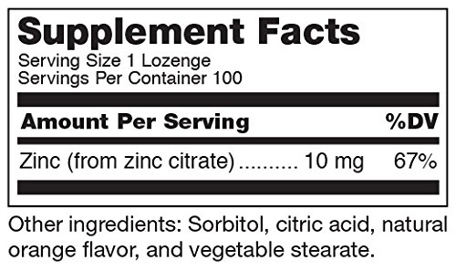 Douglas Laboratories® - Zinc Lozenges - Zinc Citrate Supports Immunity, Reproduction, and Skin* - 100 Lozenges