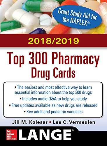 McGraw-Hill's 2018/2019 Top 300 Pharmacy Drug Cards