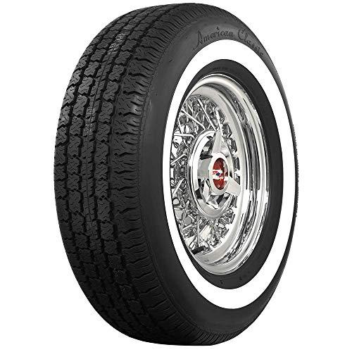 (Coker Tire 700210 Whitewall Radial 215/75R15)