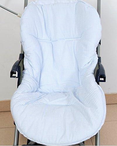 Colchoneta reversible para silla de paseo universal para bebés. Funda reversible silla de coche. Mundi Bebé.: Amazon.es: Bebé