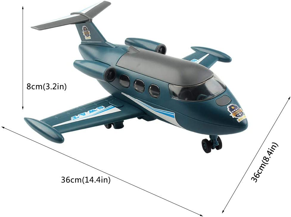 DIY Assembled Glider Aircraft Fighter Plane with Engine Sounds LED Lights Toys Assembled Airplane Model Building Kit