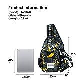 FANDARE Sling Bag Crossbody Bag Shoulder Bag Hiking