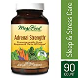 MegaFood – Adrenal Strength, Support for Energy, Focus, Alertness, Fatigue and Stress Management with Ashwagandha and Reishi Mushrooms, Vegetarian, Gluten-Free, Non-GMO, 90 Tablets (FFP) For Sale
